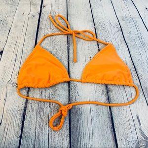 Other - Bikini Top Orange Size 4/5 Small